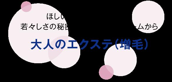 大人のエクステ(増毛)